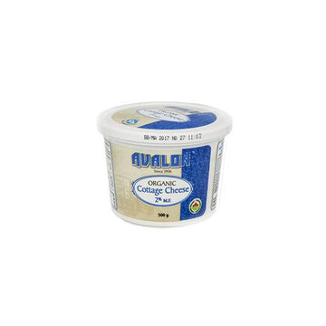 Organic 2% Cottage Cheese 500g