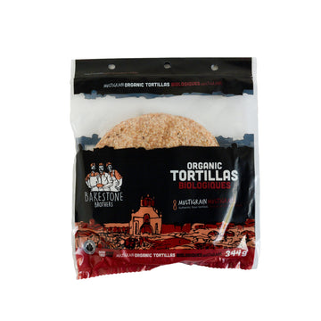 Organic Multigrain Tortillas 344g