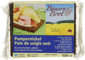 Pumpernickel Bread 500g