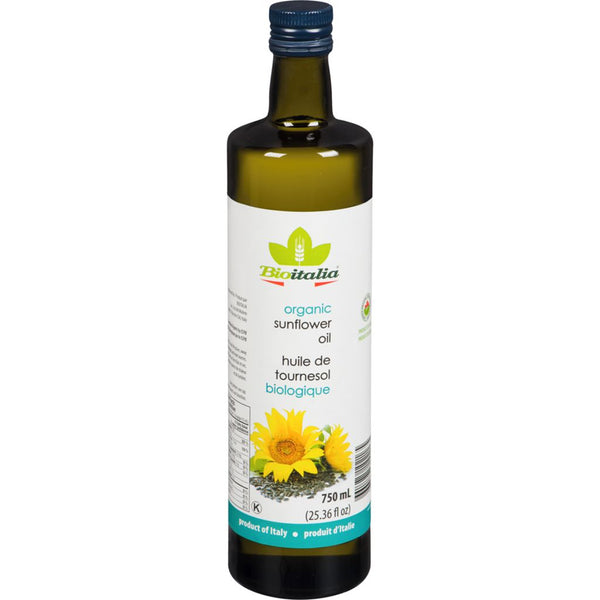 BioItalia Organic Sunflower Oil 750ml 750ml