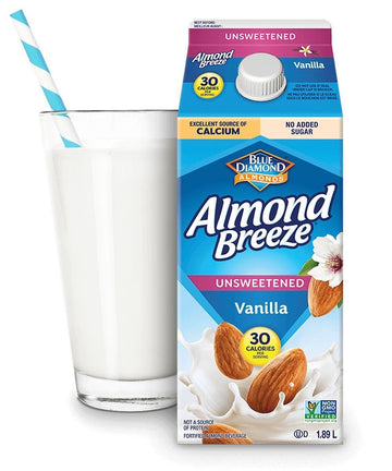 Unsweetened Vanilla Chilled Almond Beverage 1.89L