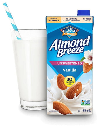 Vanilla Unsweetened Almond Beverage 946ml