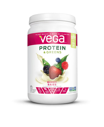 Vega Protein & Greens MD CA Berry 609g