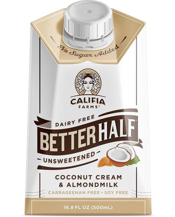 Better Half Unsweetened 500ml