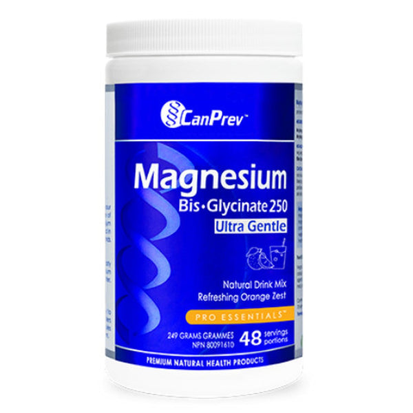 CanPrev Magnesium Bis Glycinate Orange Zest 249g