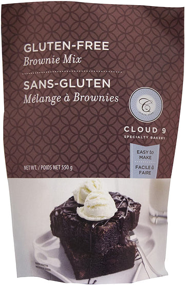 Chocolate Brownie Mix GF 550g