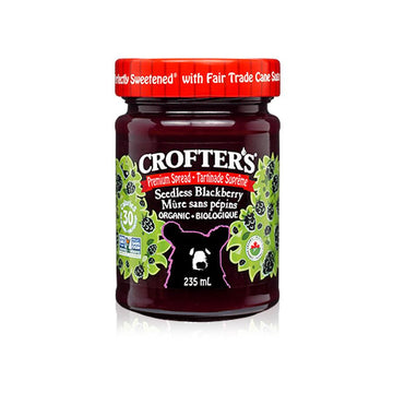 Seedless Blackberry Premium Fruit Spread 235ml