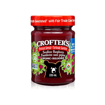Seedless Raspberry Premium Fruit Spread 235ml
