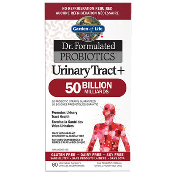 Dr. Formulated Urinary Tract+ 50 Billion 60c