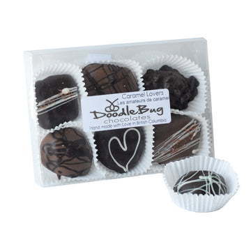 Chocolate Caramel Lovers Box of 6