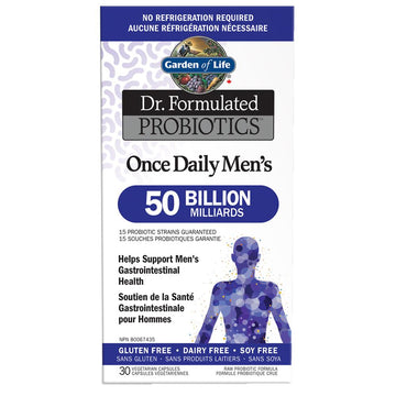 Dr. Formulated Once Daily Men's 50 Billion 30c
