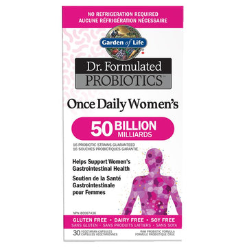 Dr. Formulated Once Daily Women's 50 Billion 30c