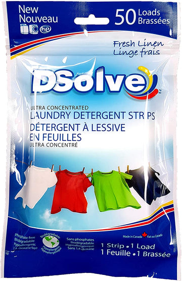 Laundry Strips (Fresh Linen) 50 Load