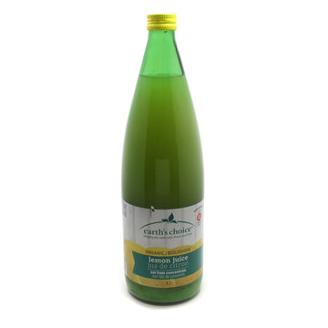 Pure Lemon Juice Organic 1L