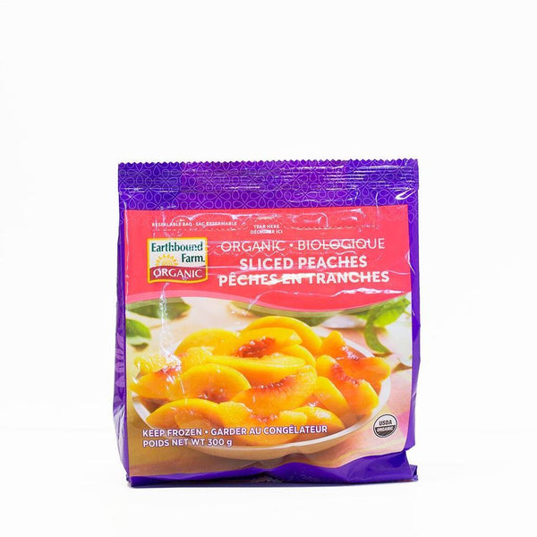 Earthbound Farm Organic Frozen Peaches 300g 300g