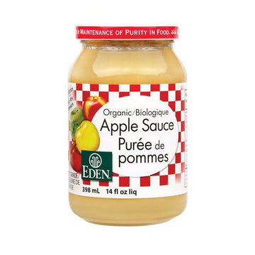 Apple Sauce Organic 398ml