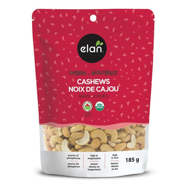 Organic Raw Cashews 185g