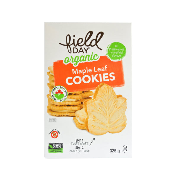Field Day Organic Maple Cookies 325g 325g