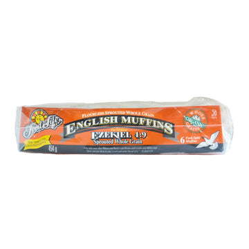 Plain Ezekiel Organic English Muffins 454g
