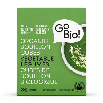 Vegetable Bouillon Cubes Organic 66g