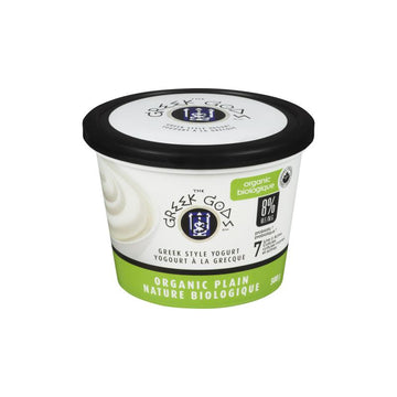 Organic Plain Greek Yogurt 500g