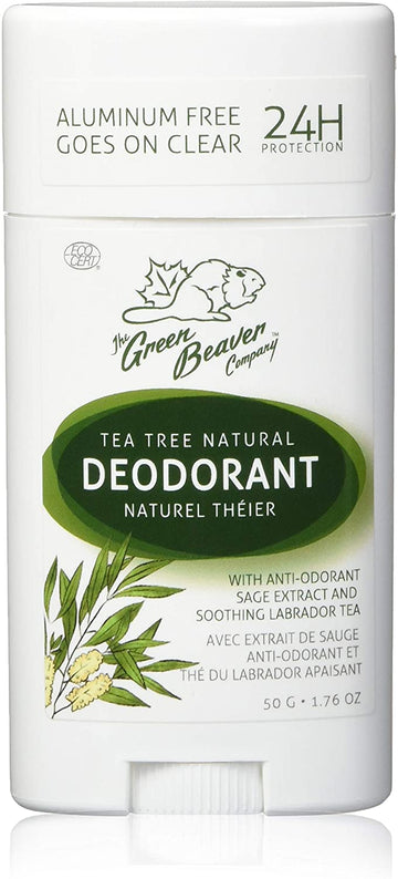 Natural Deodorant Tea Tree 50g