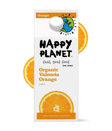 Valencia Orange Organic Juice 1.75L
