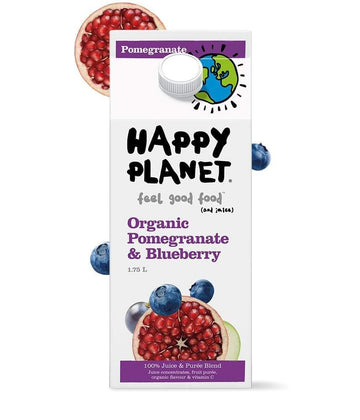 Pomegranate & Blueberry Juice Organic 1.75L