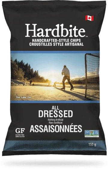 All Dressed Hardbite Kettle Chips 150g