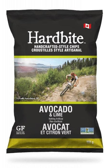 Avocado Lime Hardbite Kettle Chips 150g