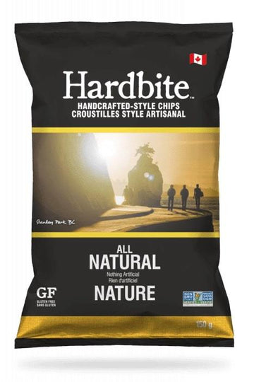 Natural Hardbite Kettle Chips 150g