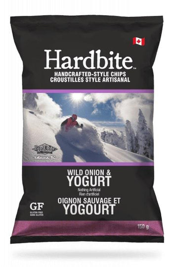 Onion & Yogurt Hardbite Kettle Chips 150g