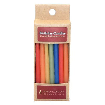Birthday Beeswax Candles Royal 20pk