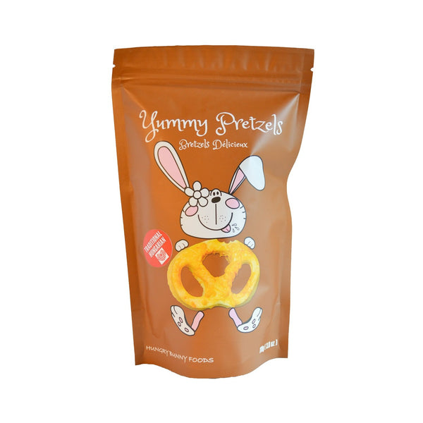 Hungry Bunny Yummy Cheese Pretzels 110g 110g