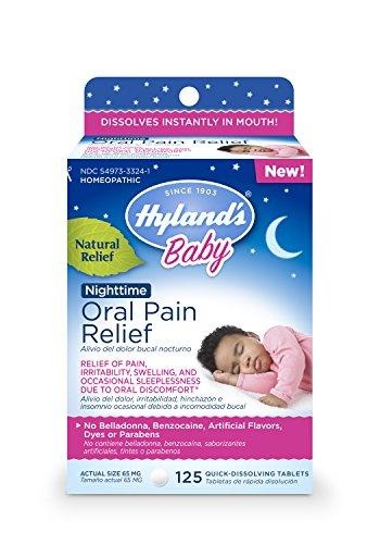 Hyland's Baby Oral Pain Relief Nighttime 125t