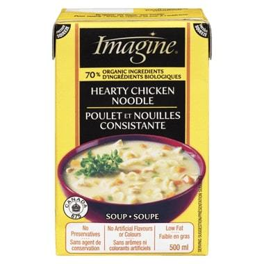 Imagine Foods Hearty Chicken Noodle Soup 500ml 500ml