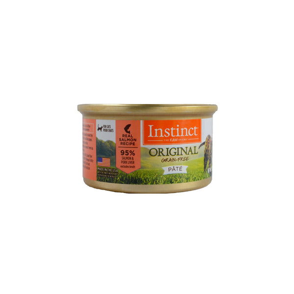 Instinct Cat Food GF Salmon 3oz 3oz