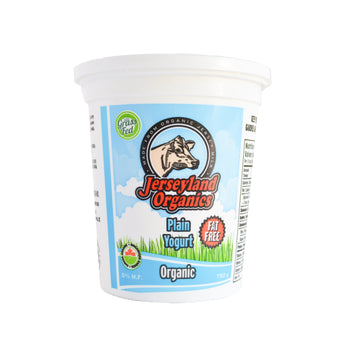 Plain Yogurt 0% Organic 750g