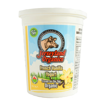 French Vanilla Yogurt Organic 750g