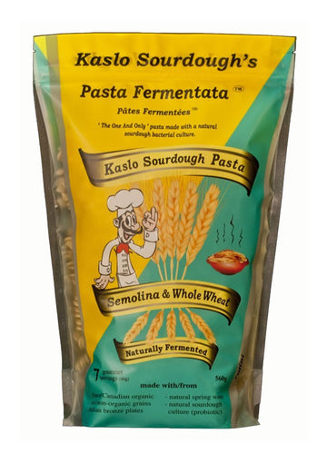 Semolina Whole Wheat Sourdough Pasta 560g