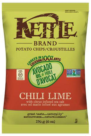Avocado Chili Lime Potato Chips 170g