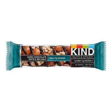 Dark Chocolate Nuts & Sea Salt Bar 40g