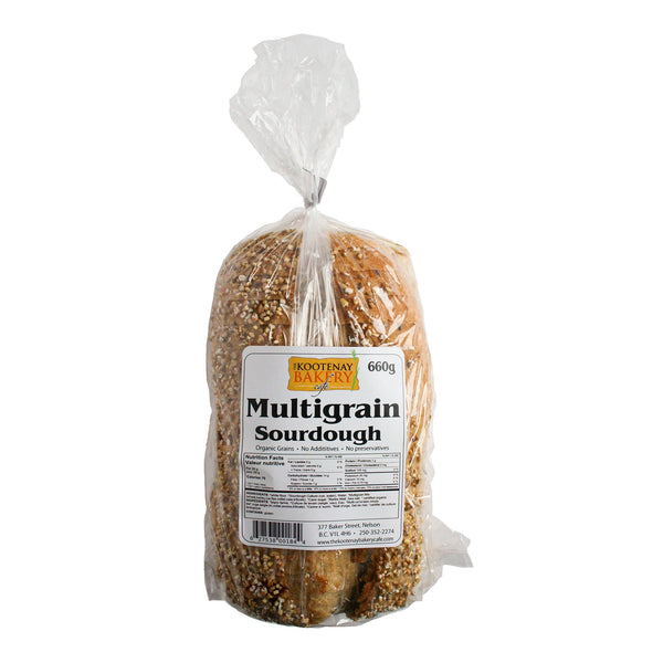 Kootenay Bakery Cafe Co op MultiGrain Bread EA