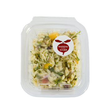 Lemon Dill Orzo Salad ~500g
