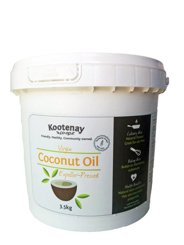 Coconut Oil Virgin Organic 3.5kg