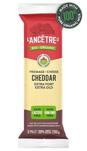 Organic Extra Old Cheddar Cheese (200g/325g)