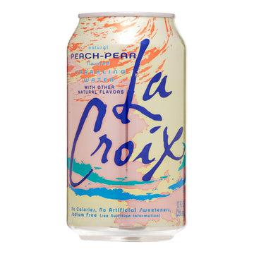 Peach Pear Sparkling Water (355ml/8x355ml)