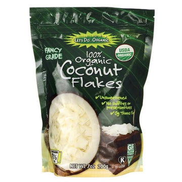 Coconut Flakes Organic 200g