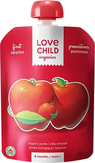 First Apples Baby Food 128ml