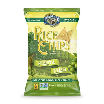 Lime Fiesta Rice Chips 170g
